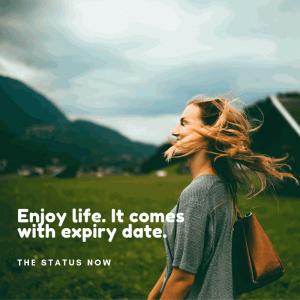 Life Status in English